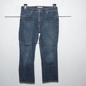 Chico's quartz womens jeans size 2 S 5592